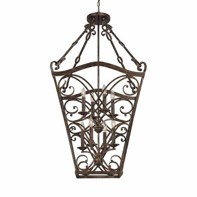 Capital Lighting Reserve 8 Light Foyer Pendant