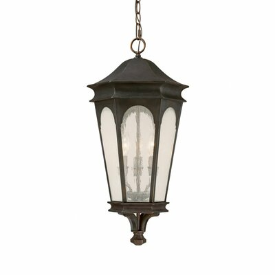 Capital Lighting Inman Park 3 Light Outdoor Hanging Lantern