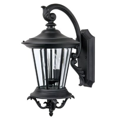 Capital Lighting Madison 2 Light Outdoor Top Arm Wall Lantern