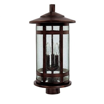 Capital Lighting Mission Hills 3 Light Outdoor Post Lantern