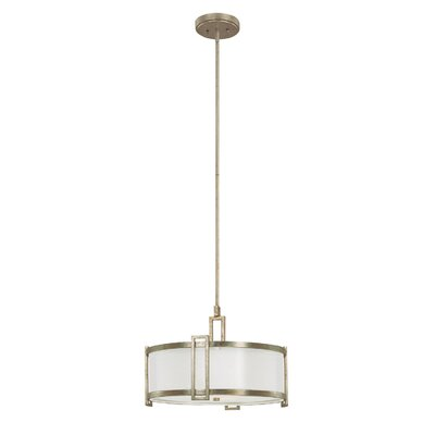 Capital Lighting Manhattan 3 Light Drum Pendant