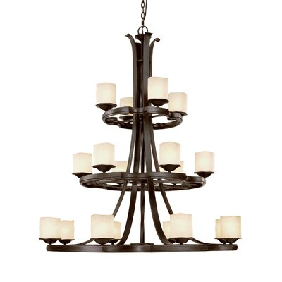 Capital Lighting Montana 18 Light Chandelier