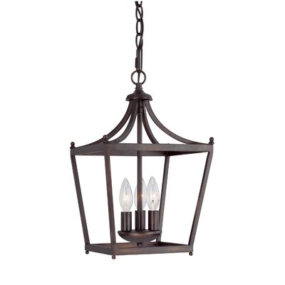 Stanton 3 Light Foyer Pendant