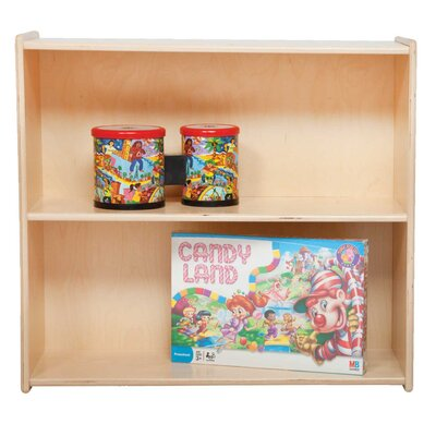 "Contender 27.25"" H Book and Storage Shelf"