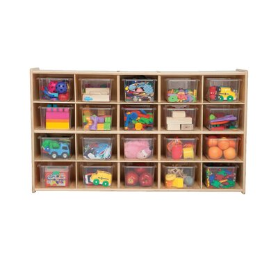 Contender 20 Compartment Cubby
