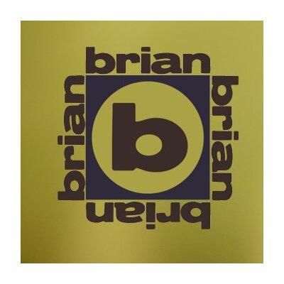 Alphabet Garden Designs Brian x 4 Monogram