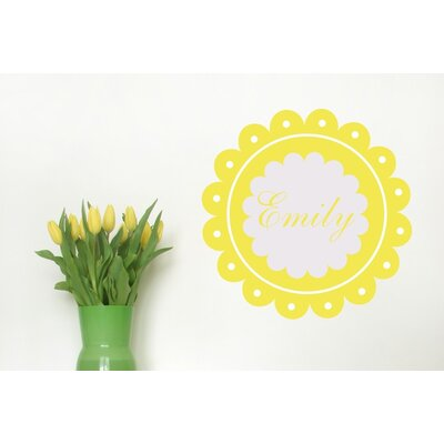 Alphabet Garden Designs Dainty Wall Decal