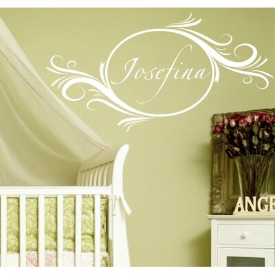 Alphabet Garden Designs Delightful Elements Wall Decal