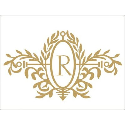 Alphabet Garden Designs Royal Elegance Monogram Wall Decal