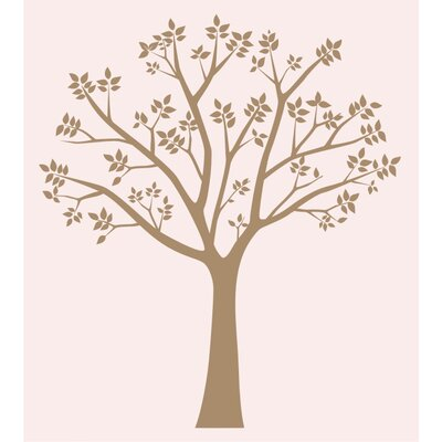 Alphabet Garden Designs Blossoming Tree Vinyl Wall Decal