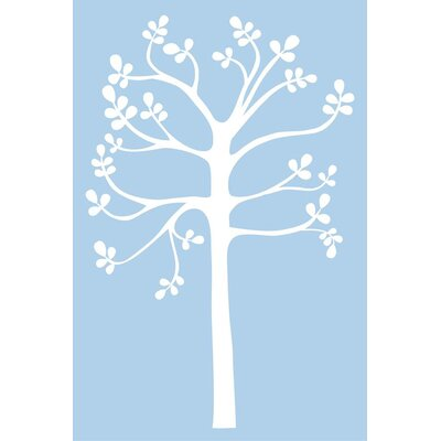 Alphabet Garden Designs Spring Tree Vinyl Wall Decal