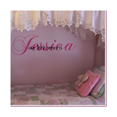 Alphabet Garden Designs Our Little Princess / Prince Wall Decal