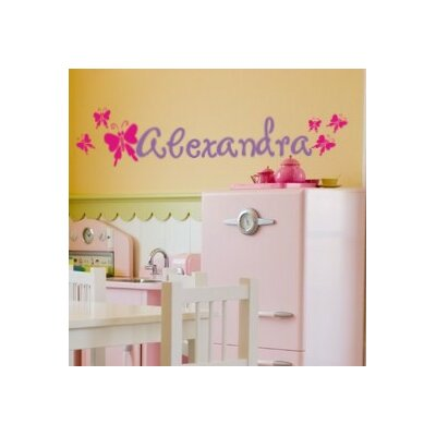 Butterfly Garden Wall Decal