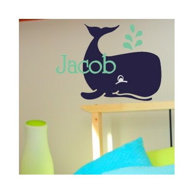 Jacob's Whale Wall Decal
