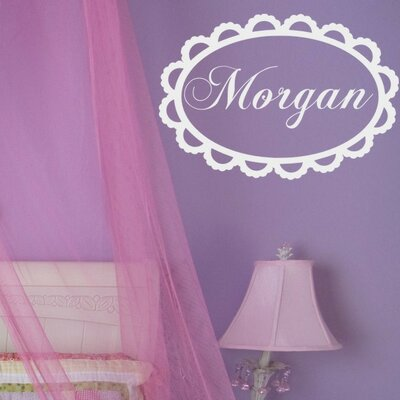 Lace Monogram Wall Decal