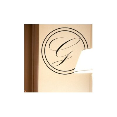 Timeless Monogram Wall Decal