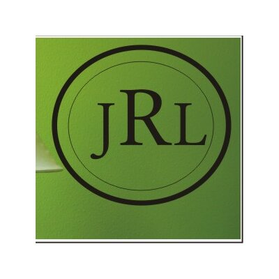 Elegance Monogram Wall Decal