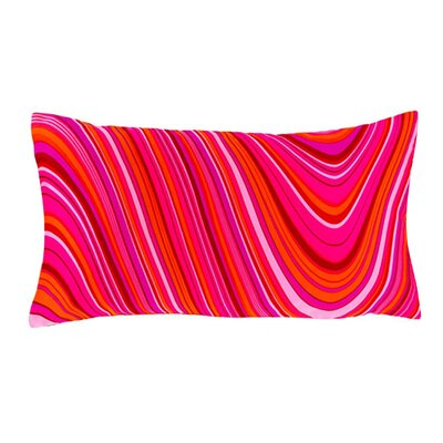 Jiti Psychedelic Silk Decorative Pillow