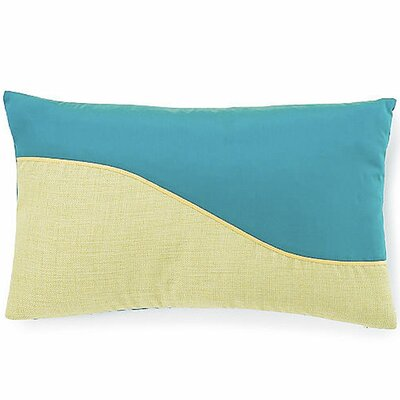 Jiti Pillows Wave Poly Pillow in Aqua