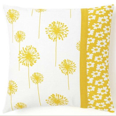 Jiti Dandelion / Daisy Cotton Pillow