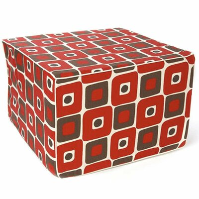 Jiti Geo Cotton Cube Ottoman