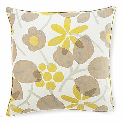 Jiti Pillows Bethe Flower Square Linen Pillow
