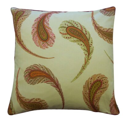 Jiti Peacock Satin Cotton Pillow