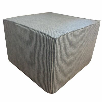 Jiti Stitches Cotton Cube Ottoman