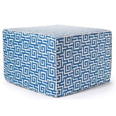 Jiti Puzzle Outdoor Ottoman in Blue
