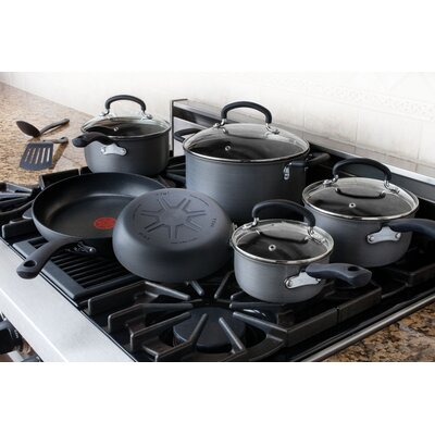 Ultimate Hard Anodized 12-Piece Cookware Set
