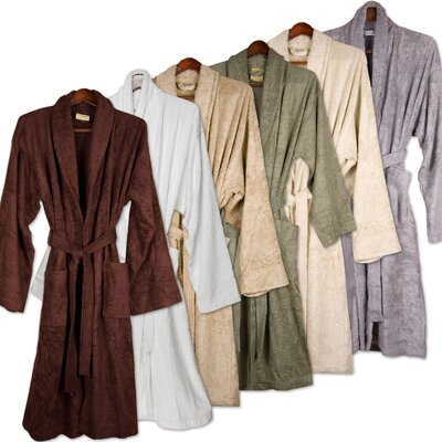 Pure Fiber Bamboo Bathrobe