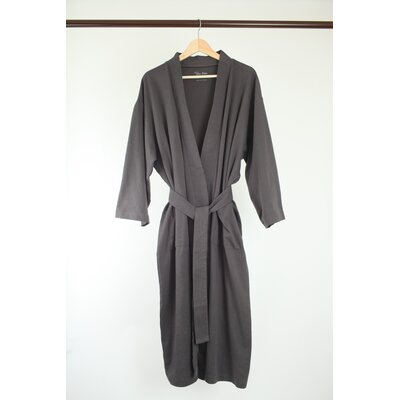 Pure Fiber Organic Combed Cotton Bathrobe