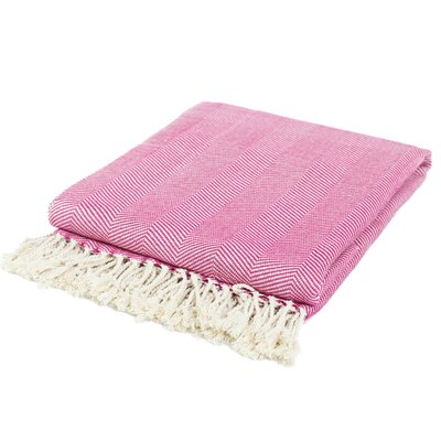 Pure Fiber Organic Cotton Throw