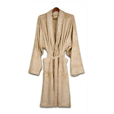 Pure Fiber Organic Cotton Terry Bathrobe