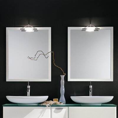 "Acquaviva Archeda X Lighted 31.5"" H x 27.6"" W Mirror"