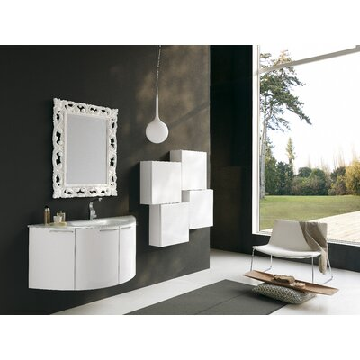 Acquaviva Archeda V 47&quot; Curved Bathroom Vanity