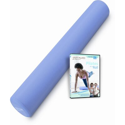 STOTT PILATES Foam Roller Deluxe + Pilates on a Roll DVD