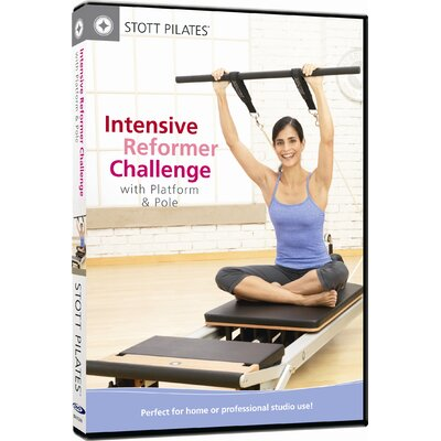 Intensive Reformer Challenge with Platform and Pole DVD