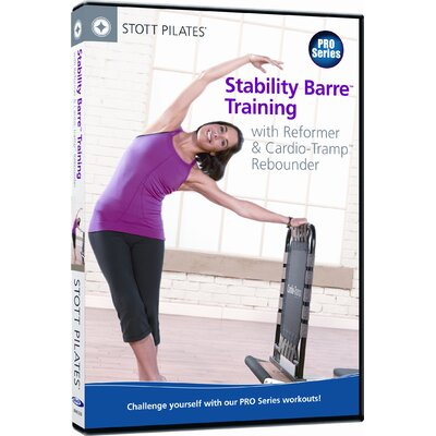 STOTT PILATES Stability Barre Training with Reformer and Cardio Tramp Rebounder