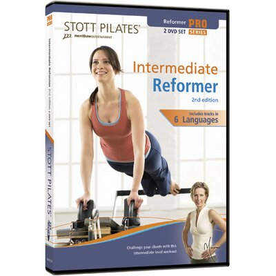 STOTT PILATES 2nd Edition Intermediate Reformer DVD (Set of 2)
