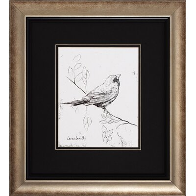Propac Images Song Bird III / IV 2 Piece Framed Graphic Art Set