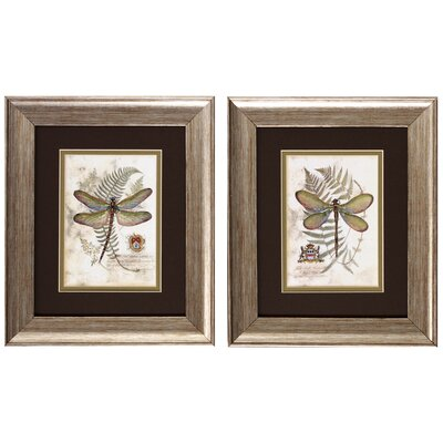 "Propac Images Dragonfly I and II Print Set - 11"" x 13"" (Set of 2)"