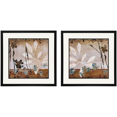 "Propac Images Floralscape I and II Print Set - 28"" x 28"""