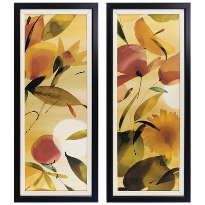 Fiesta I and II Framed Print Set (Set of 2)