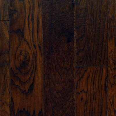 """Aurora Hardwood Hand-Sculpted 5"""" Engineered American Hickory in Patina"""