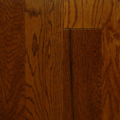 "Aurora Hardwood American Smooth 3-1/2"" Engineered Oak in Jefferson"
