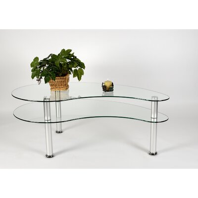 2-Tier Freeform Coffee Table