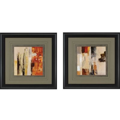 UrbanMorning by Vassileva 2 Piece Framed Graphic Art Set