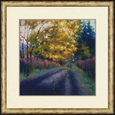 Cypress Solitude II by Tarbeaux Framed Painting Print