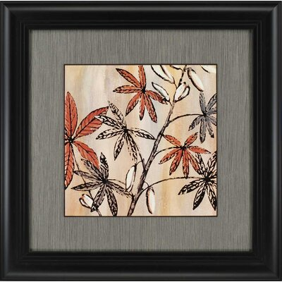 Nature's Graphic II by King Framed Painting Print